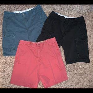 Mens Sz 36 Cargo Shorts (3 In Lot) Read below
